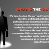 Unmask the corrupt