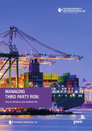 managing third party risks