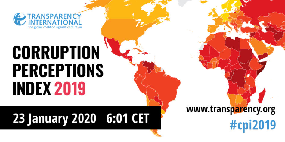 Corruption Perceptions Index 2019